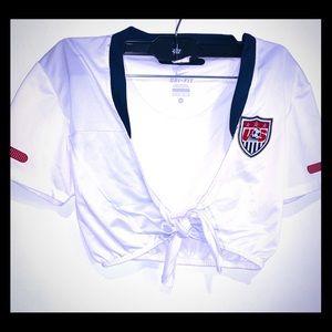 Nike Dri Fit 🇺🇸 USA ⚽️ Soccer Sport Team Shirt